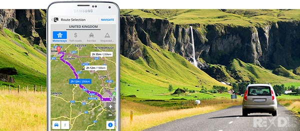 Sygic GPS Navigation Cracked APK + DATA + MAPS