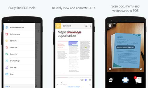 adobe pdf app download for android