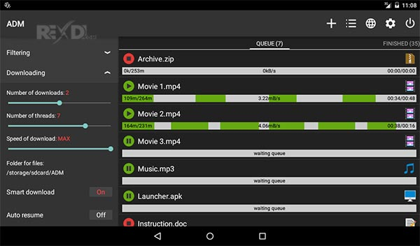 android download manager apk