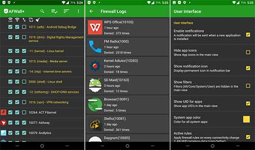 AFWall+ (Donate) 3 2 0 Apk + MOD (Unlocked) for Android