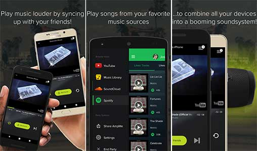 AmpMe - Social Music Party Apk