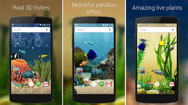 Aquarium 3D Live Wallpaper Premium Apk