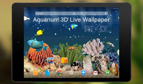 Aquarium 3D Live Wallpaper Premium