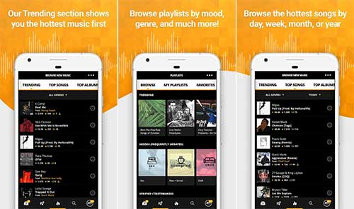 Audiomack Free Music Mixtapes Full APK