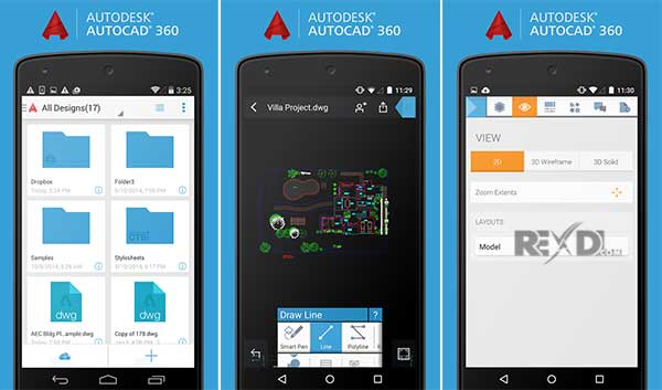Image result for AutoCAD 360 android app