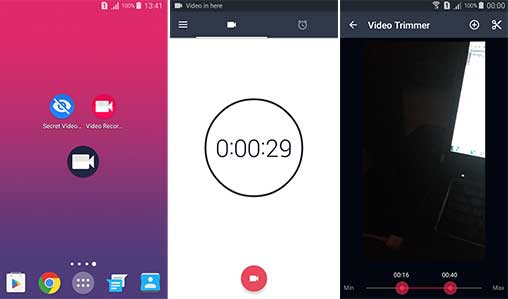 Background (Secret) Video Recorder Pro Apk