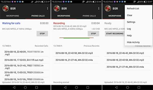 Background Sound Recorder Apk