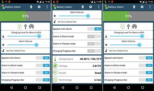 Battery Alarm Apk