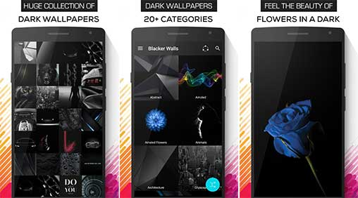 Blacker : Dark Wallpapers Unlocked Apk