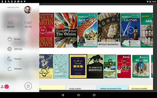 Bookari Epub PDF Ebook Reader