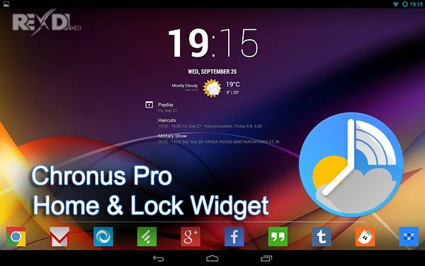 Chronus Pro – Home & Lock Widget apk