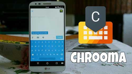 Chrooma Keyboard PRO Emoji