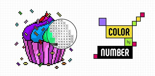 Color by Number: Coloring Book - Pixel Art
