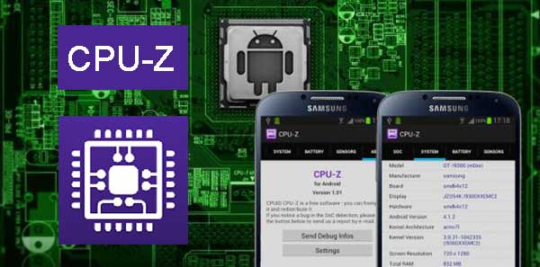 CPU-Z 1 28 Ad-Free Apk + Mod for Android