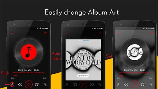 Crimson Music Player Apk