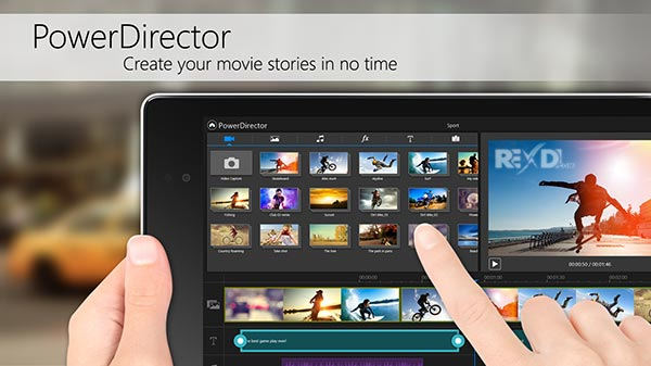 CyberLink PowerDirector Video Editor 6 0 0 Apk (Full Unlocked) Android