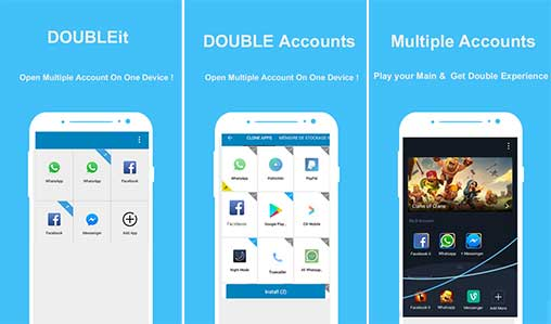 Double Account & Multiple Accounts - clone app Apk