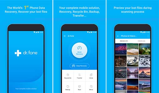 dr.fone - Recover deleted data Apk