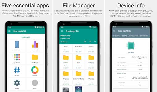 Droid Insight 360: File & App Manager, Device Info Pro Apk