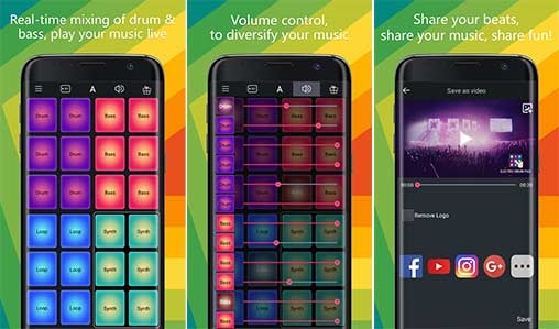 Electro Drum Pad Pro 1 2 2 Apk for Android