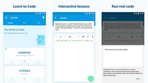 Encode: Learn to Code Pro Apk
