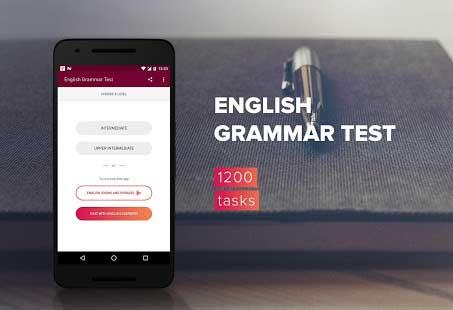 English Grammar Test