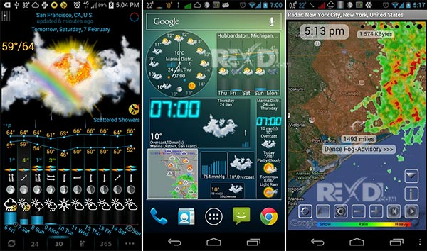 eWeather HD, Radar, Alerts Apk