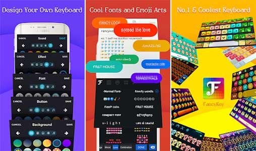 FancyKey Keyboard - Cool Fonts 4 5 Plus Apk for Android