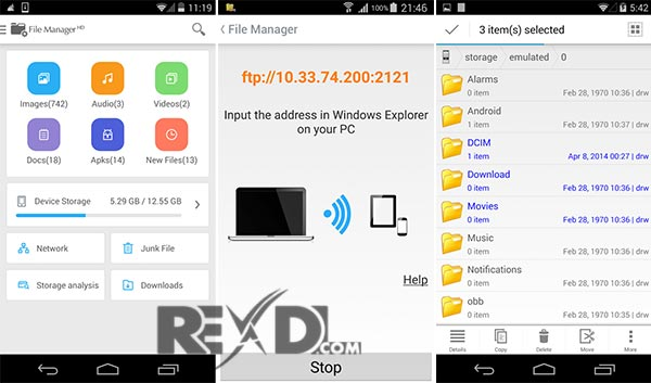 File Manager HD (Explorer) Apk