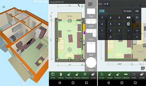 Floor plan creator 3 2 2 apk full unlocked for android for Floor plan creator unlocked