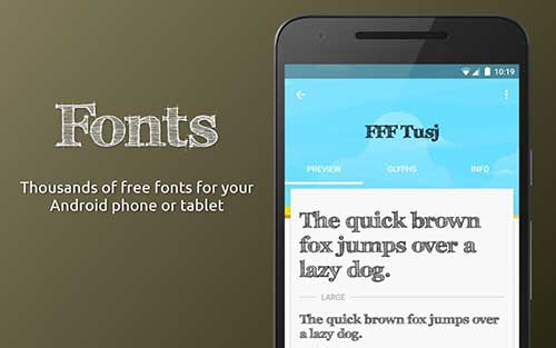 font for android apk without root