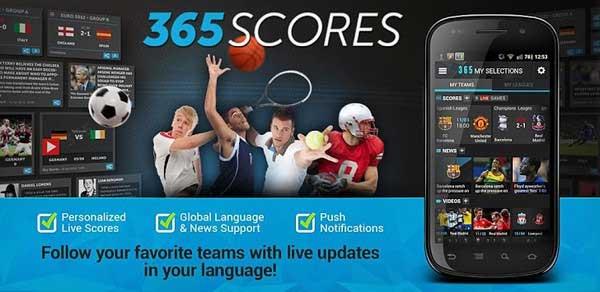 Football Live Scores 365Scores