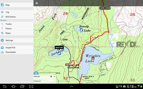 Gaia GPS Topo Maps and Trails Apk Mod Revdl