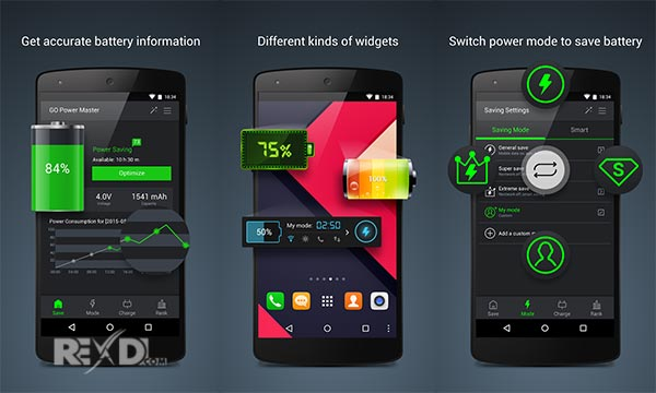 GO Battery Saver &Power Widget Apk