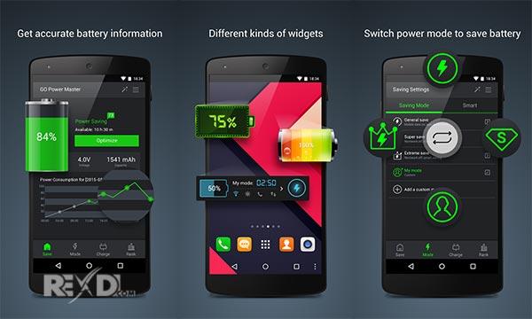 GO Battery Saver &Power Widget Apk