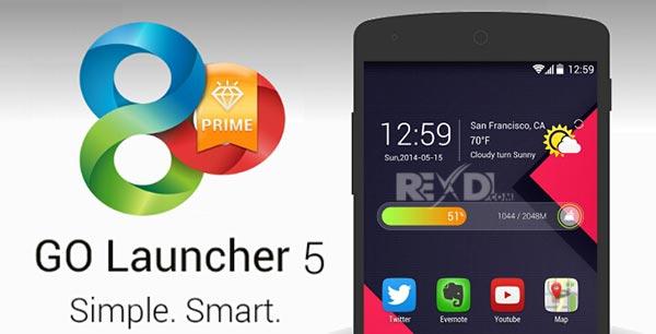 go launcher ex prime full version