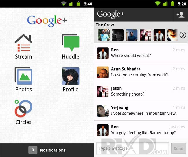 Google Plus Apk