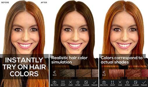 Hair Color Studio Premium Apk