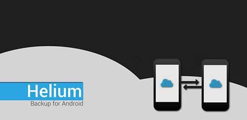 Helium Premium – App Sync and Backup