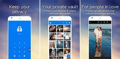 Hide photos & videos LockMyPix Apk