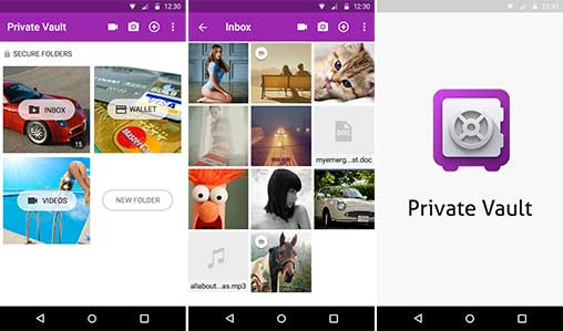 Hide Pictures & Videos - VAULT Premium Apk