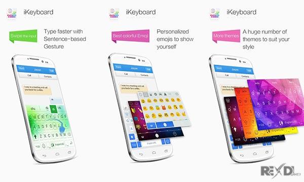 iKeyboard – emoji , emoticons apk