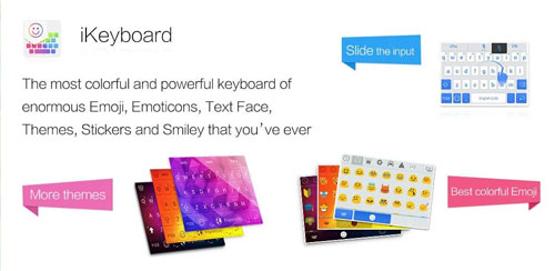 iKeyboard – emoji , emoticons for Android
