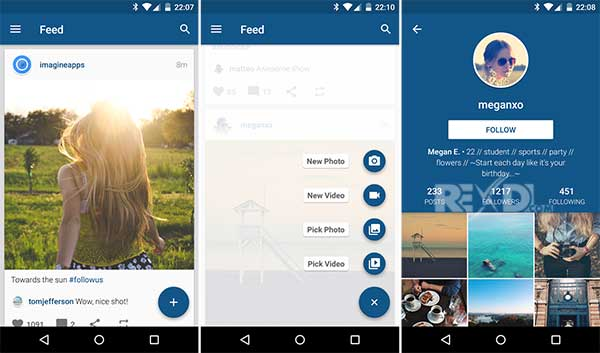 Imagine for Instagram Apk