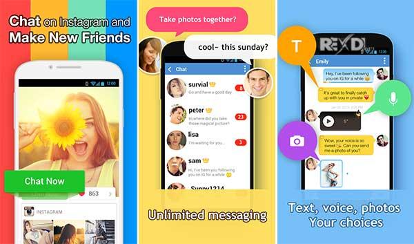 InstaMessage-Chat,meet,hangout Apk