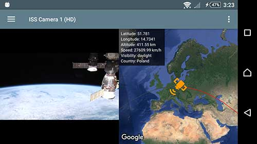 ISS Live – HD Earth viewing Apk