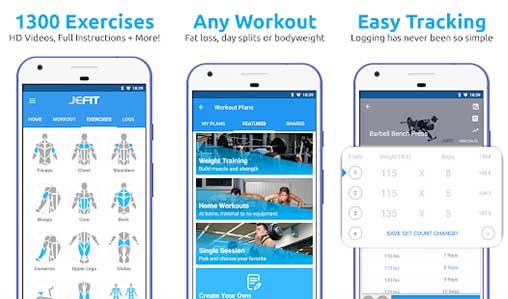 JEFIT Workout Tracker Apk