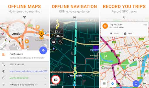 Maps & GPS Navigation OsmAnd+ Apk