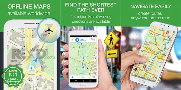 MAPS.ME Offline Map Routing Apk