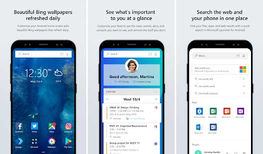 Microsoft Launcher (Preview) Apk